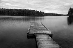 Dock & Lake   copyright © Peter Welch, all rights reserved