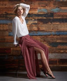Long Skirt with thig