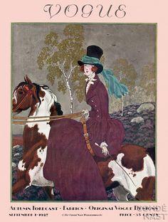 vogue cover september 1927