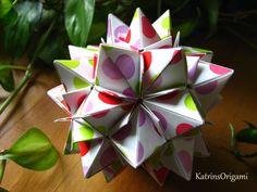 Origami ♣ Magnet ♣ Kusudama