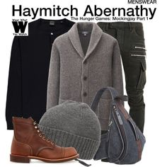 Inspired by Woody Harrelson as Haymitch Abernathy in 2014's The Hunger Games: Mockingjay Part 1