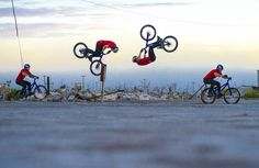 Danny MacAskill lands First-Ever Bump-Front Flip - Behind the Scenes of ...