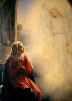 joyful mysteries annunciation - Google Search