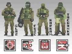 Spetsnaz pixels