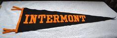 Vintage Virginia Intermont College Sports Pennant Flag Banner-Trump Brand USA