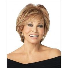 RACHEL WELCH hairstyles for women over 50 | Human Hair Wigs - Applause by Raquel Welch