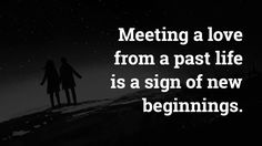 Have you ever felt an overwhelming sense of familiarity and joy upon meeting someone? This is one of 11 signs you've met a love from your past life...
