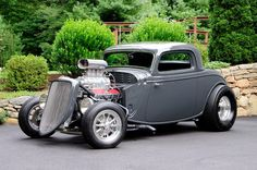 Hopped-Up Street Shaker with Blown Chevy Big-Block Rules the Streets - Hot Rod Network