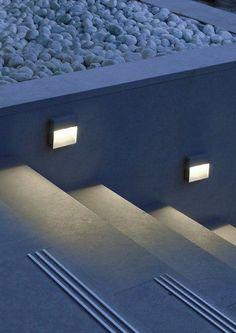 #led wall-mounted foot- and walkover #light SKILL by SIMES @simeslighting