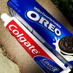 Colgate toothpaste Oreo flavoured Colgate Toothpaste, Oreo Flavors, Bathing Beauties, Oreos, Cavities, Kids, Young Children, Boys, Dental Caries