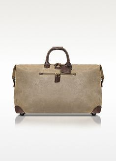 Brics Life - Micro-Suede Large Holdall Travel Bag | FORZIERI
