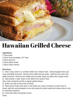 April 12th Today is National Grilled Cheese Sandwich Day  This is one of my favorites
