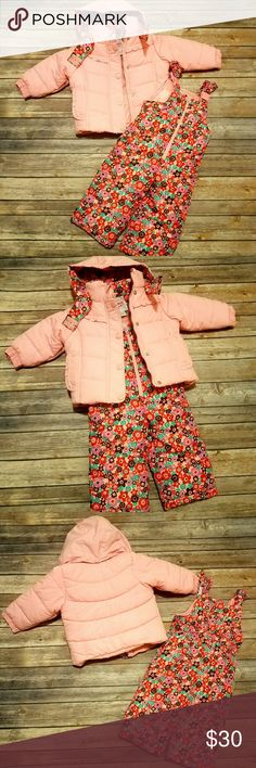 Osh Kosh Toddler Snow Suit New without tags Size 12M Super cute and comfy Osh Kosh Jackets & Coats