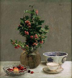 Henri Fantin-Latour, Still Life, 1872