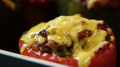 Tried-and-True Stuffed Peppers with Ground Beef and Rice