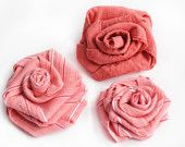 More Pretty Fabric Flowers