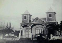 Iglesia La Agonía en Alajuela. 1925 aproximadamente.