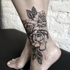 I N K F 3 C rose tattoo