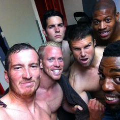 RSL takes a post-game selfie after their 3-2 comeback win over Chicago Fire.