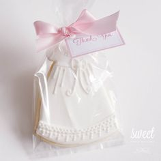 Baby Girl Christening Gown Cookies