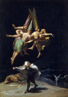 Francisco de Goya Witches' Flight 1797-98