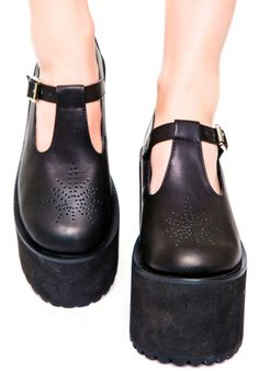 UNIF Mary Janes Shoes | Dolls Kill