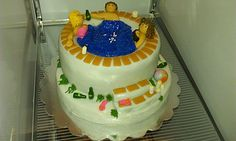 Hot Tub Birthday Cake 2011