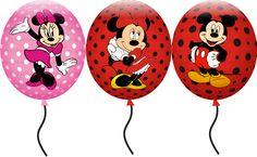 Balões fofíssimos! - RosaPink - Design Criativo