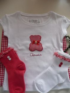 Camisetas infantiles decoradas - artesanum com