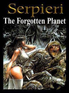 Druuna The Forgotten Planet by Paolo Eleuteri Serpieri Comics Story, Bd Comics, Comics Girls, Arte Horror, Horror Art, Fantasy Comics, Fantasy Art, Comics In English, Serpieri