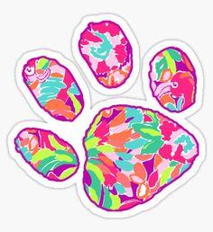Puppy Paw - Lulu Sticker