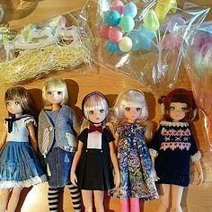 「大集合~❕どのるるこもカワイイ❤ #ruruko  #doll」