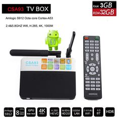 A53 Android 6.0 TV Box //Price: $92.28 & FREE Shipping //     #Beauty3
