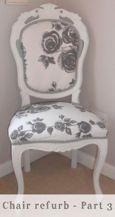 Chair Refurbishment – Part 3