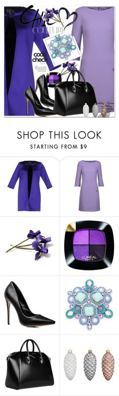 """""""LOGVINOVA"""" by amalyalana ❤ liked on Polyvore featuring ES'GIVIEN, Michael Kors, L'Oréal Paris, Givenchy and John Lewis"""