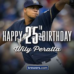 Happy birthday, Wily! #Brewers
