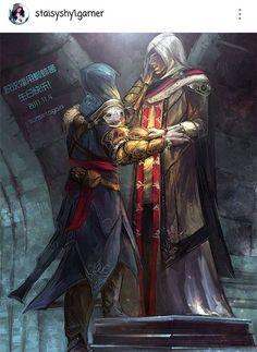 Legend meets legend -GDM #assassinscreed #assassins #assassin #ac #assassinscreeed2 #assassinscreedbrotherhood #assassinscreedrevelations #assassinscreed3 #assassinscreedblackflag #assassinscreedrogue #assassinscreedunity #assassinscreedsyndicate #altairibnlaahad #ezioauditore #connorkenway #edwardkenway #arnodorian #jacobfrye #eviefrye #GeekVerse