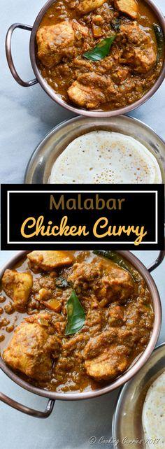 Super Yum Malabar Chicken Curry Recipe @ @cookingcurries Indian Food, Kerala Food Recipes via @sunjayjk #IndianFoodRecipesHealthly