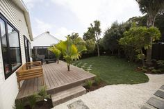 Loz and Tom's Back Yard - Room Reveals - Loz and Tom - Teams - The Block NZ - Shows - TV3