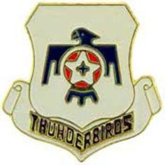 """U.S. Air Force Thunderbirds Logo Pin 1"""" by FindingKing. $8.99. This is a new U.S. Air Force Thunderbirds Logo Pin 1"""""""