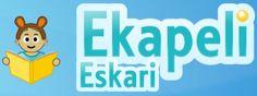 Ekapeli-Eskari on ensisijaisesti suunniteltu esikouluikäisille tai vanhemmille oppilaille, jotka tarvitsevat harjoitusta kirjain-äänne -yhteyksien tunnistamisessa