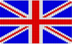 Knitting Pattern For Union Jack : 1000+ images about places on Pinterest Union jack, Perler beads and Flags