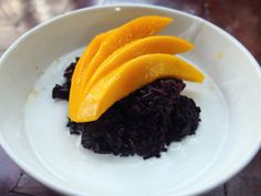 Coconut Sticky Rice with Mango - Have Fruit, Will Travel