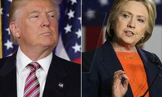 Donald Trump and Hillary Clinton prepare speeches as US Election race begins | Daily Mail Online