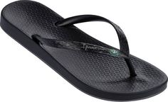 Ipanema Damen Anatomic Brilliant III Fem Zehentrenner, Schwarz (Black/Metal) , 37 EU for sale Ipanema Flip Flops, Black Sandals, Black Shoes, Shoes Sandals, Ipanema Sandals, Black Flip Flops, Womens Flip Flops, Partner, Shopping