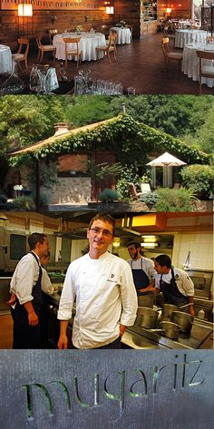 "# 3 Restaurant in the World - Mugaritz is located in Errenteria, Spain. It is run by Chef Andoni Aduriz who describes his style as techno-emotional cuisine. Mugaritz is short for ""muga eta haritza,"" Basque for ""the oak at the border"" between Astigarraga and Errenteria, Spain."