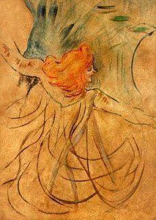 """Toulouse Lautrec, """"Loie Fuller"""""""
