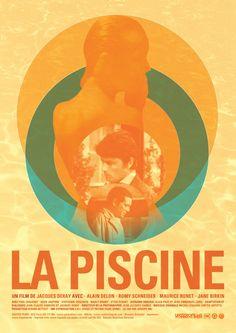 La Piscine de Jacques Deray (1969) : affiches