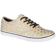 dee686751474c1 Vans Womens Atwood Low Polka Dot Skate Shoes