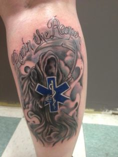 Awesome EMS Tattoo